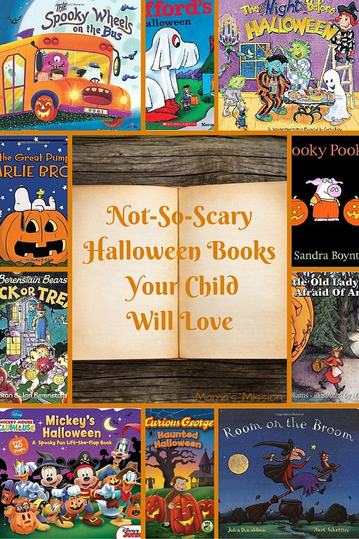 not so scary halloween books your child will love