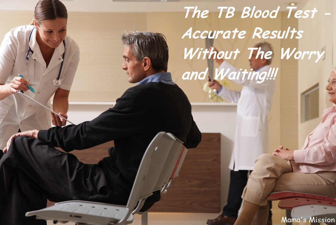 new TB Blood Test Doctors Waiting Room