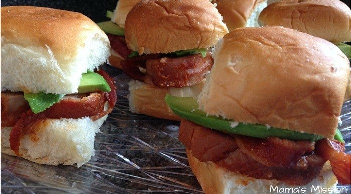 Bacon Wrapped Pork Sliders-4