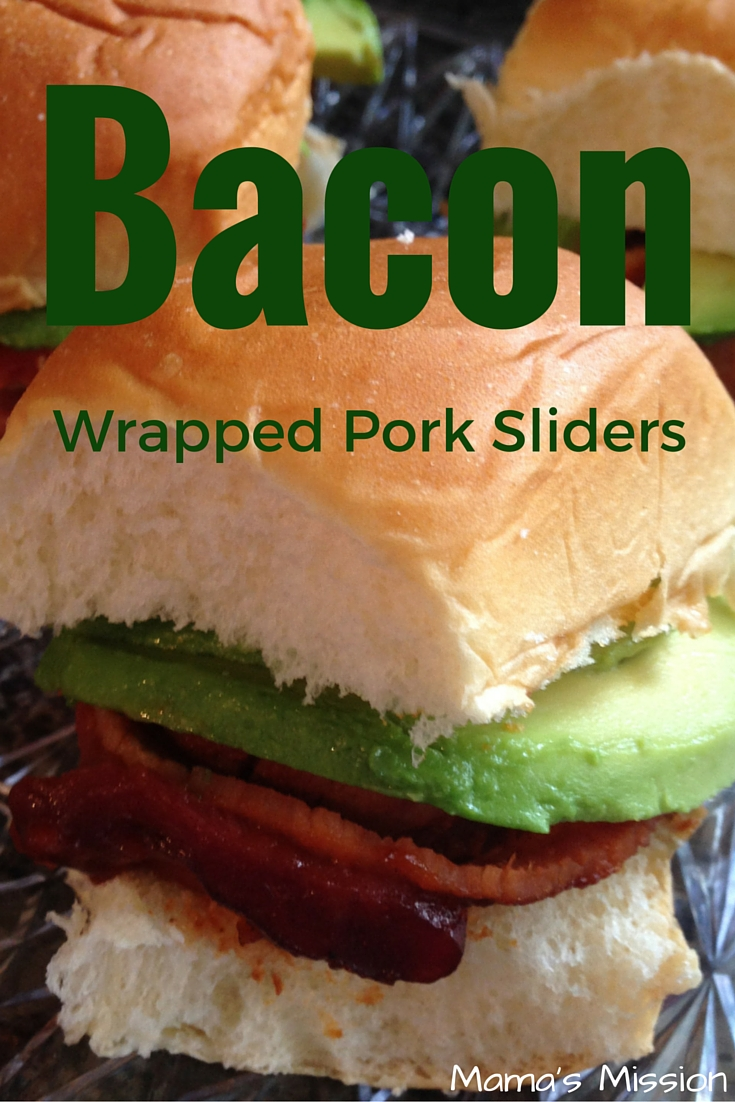 Bacon Wrapped Pork Sliders Pin For Later