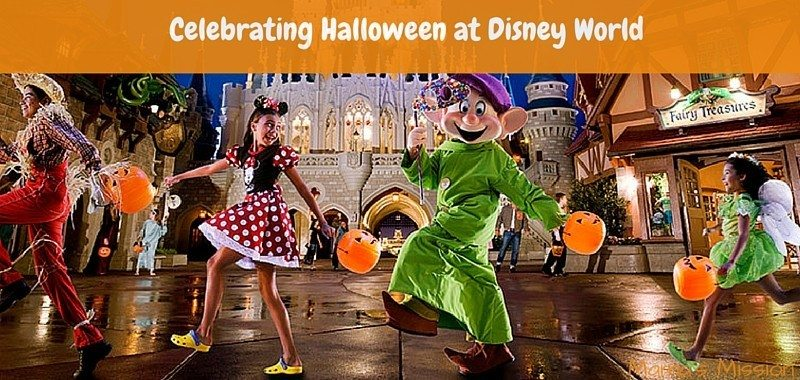 Celebrating Halloween at Disney World