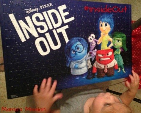 Inside Out Giveaway Family Movie Night Puzzle Time