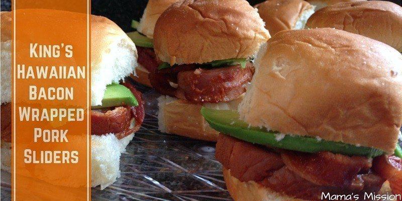 Kings Hawaiian Bacon Wrapped Pork Sliders Recipe