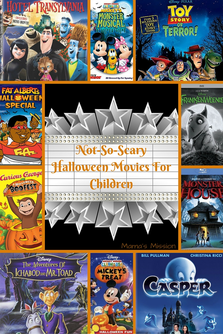 not so scary halloween movies for children