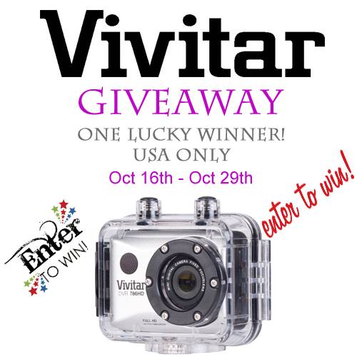 Vivitar DVR786HD Full HD Action Camera Giveaway