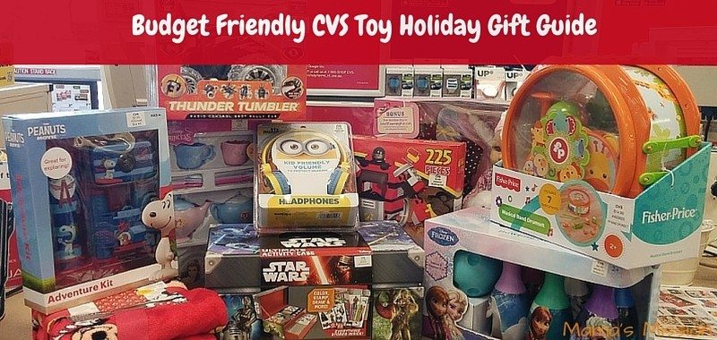 Budget Friendly CVS Toy Holiday Gift Guide