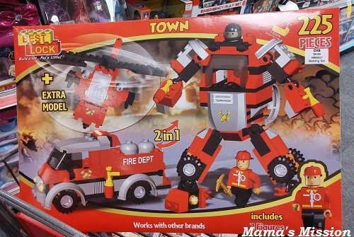 CVS Best Lock Town Fire Dept 225 Pieces CVS toy holiday gift guide