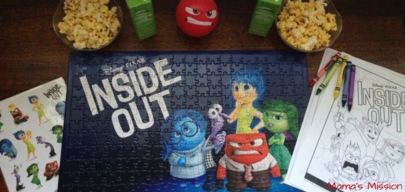 Family Movie Night Inside Out Giveaway