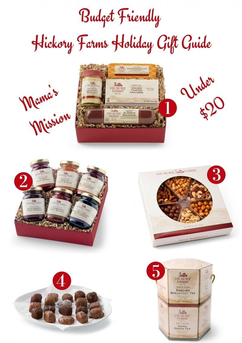 Mama's Mission Budget Friendly Hickory Farms Holiday Gift Guide Under $20