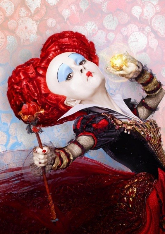 Queen of Hearts Alice Through the Looking Glass