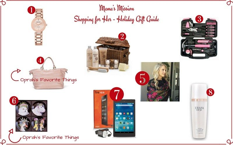 holiday gift guide shopping for her