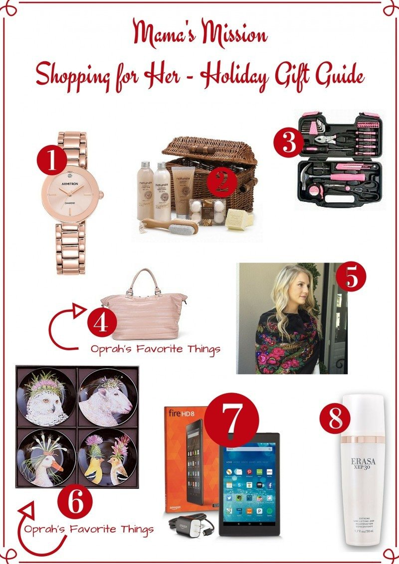 shopping for her gift guide oprah's favorite things