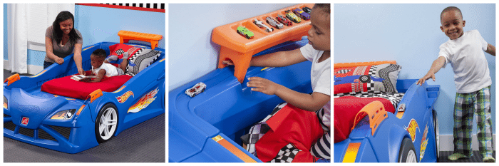 Step2 Hot Wheels Race Car Bed Giveaway