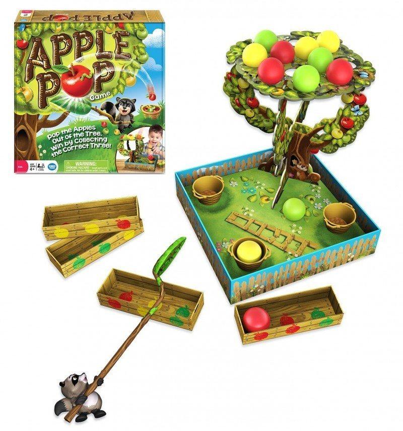 Apple Pop Game Board Game