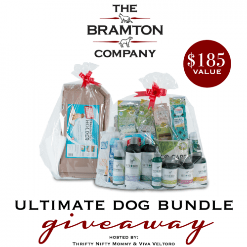 Your Dog Deserves The Best Ultimate Dog Bundle Giveaway from The Branton Company