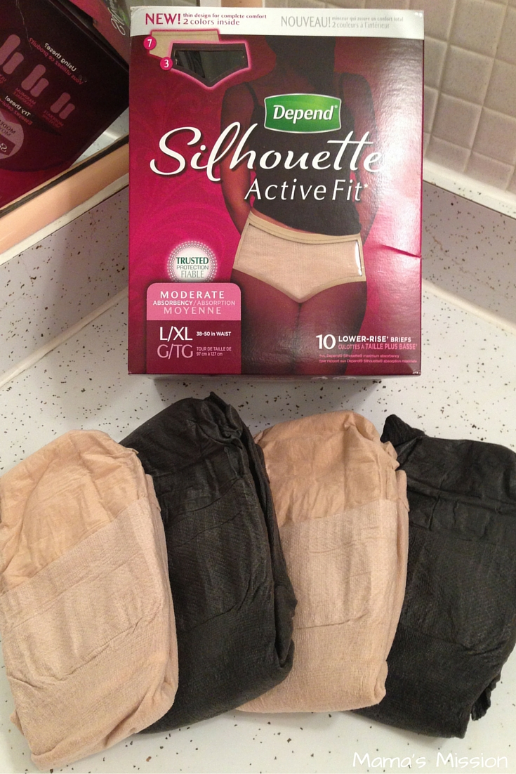 Depend Silhouette Active Fit-1
