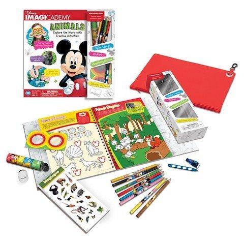 Disney Imagicademy Mickey Mouse Animals Activity Book