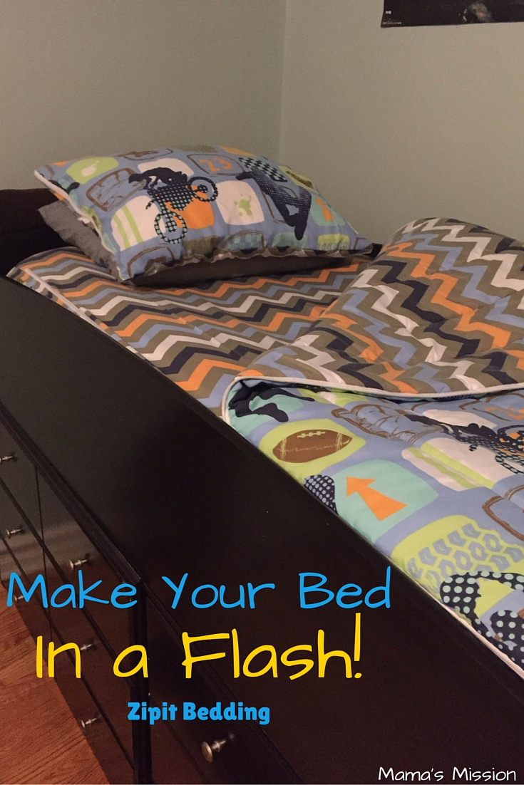 Make Your Bed in a Flash Zipit Bedding-1