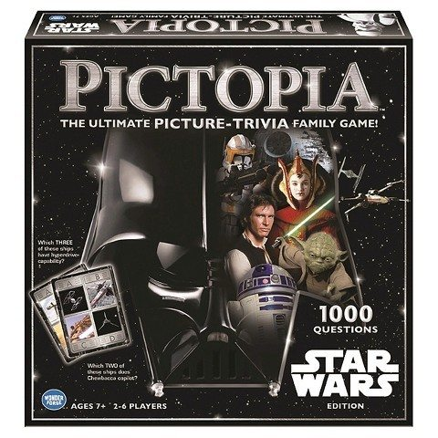 Star Wars Pictopia Trivia Game