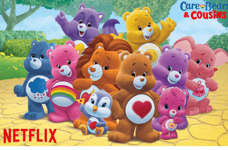 Netflix Care Bears & Cousins Netflix Logo