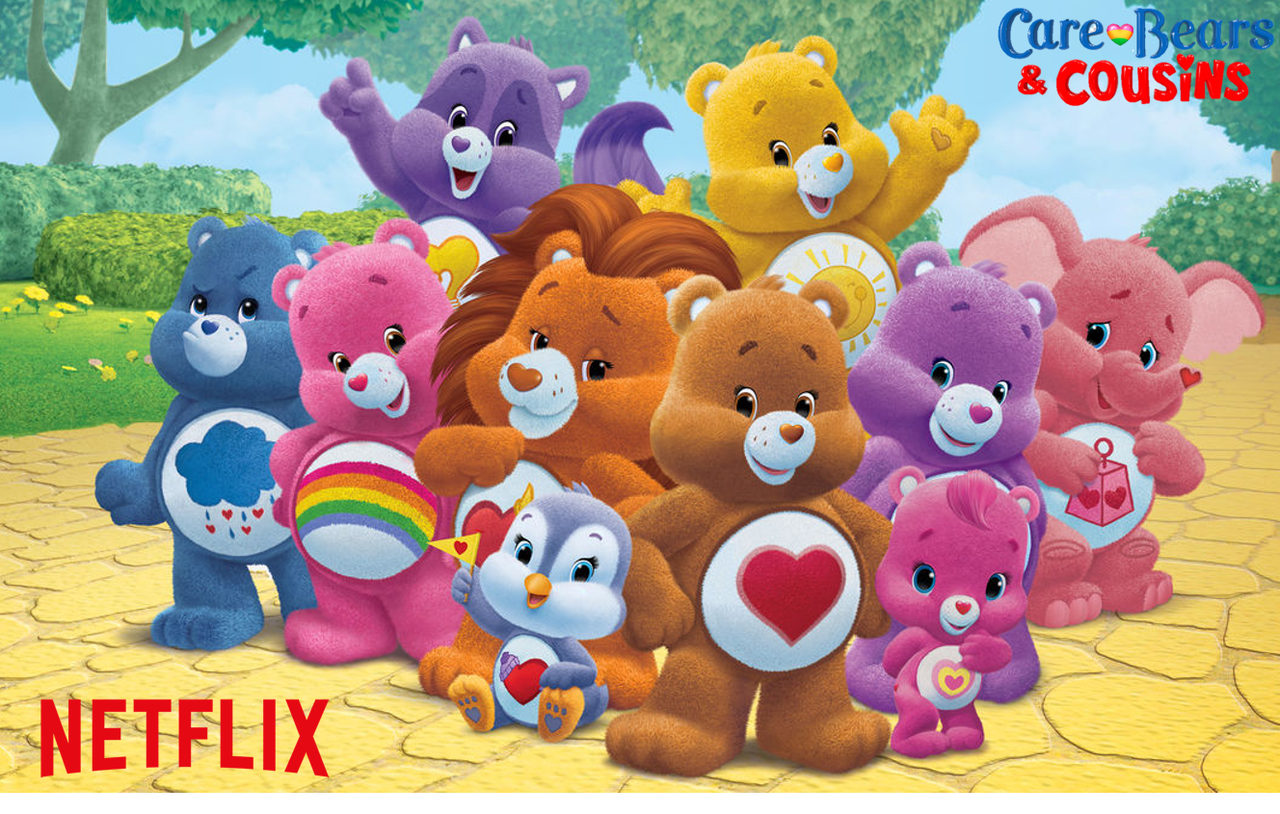 renewed for season 2 on netflix care bears amp cousins