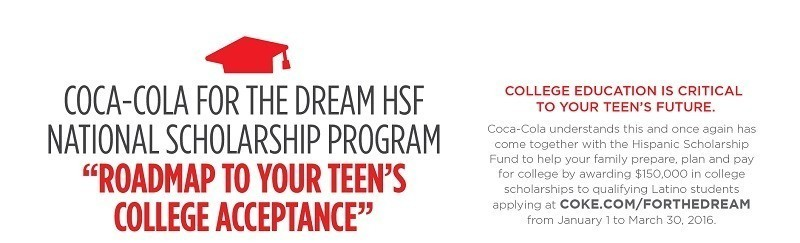 Coca-Cola Hispanic Scholarship Fund For The Dream