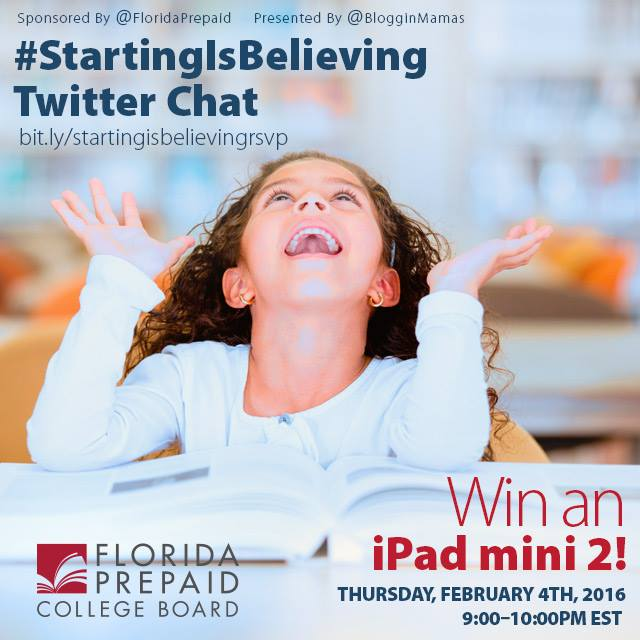 Florida Prepaid Starting Is Believing Twitter Chat 2/4/16 @ 9PM EST RSVP To Win an iPad Mini 2!