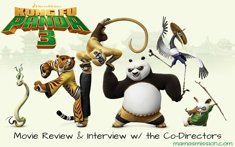 Kung Fu Panda 3 Movie Review & Interview with the Co-Directors