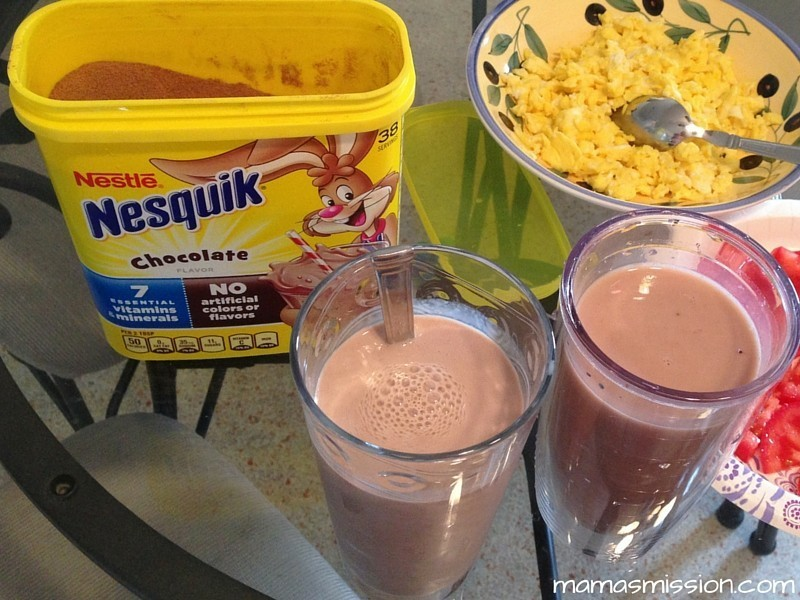 Make Breakfast Fun Again with Nesquik Chocolate Milk