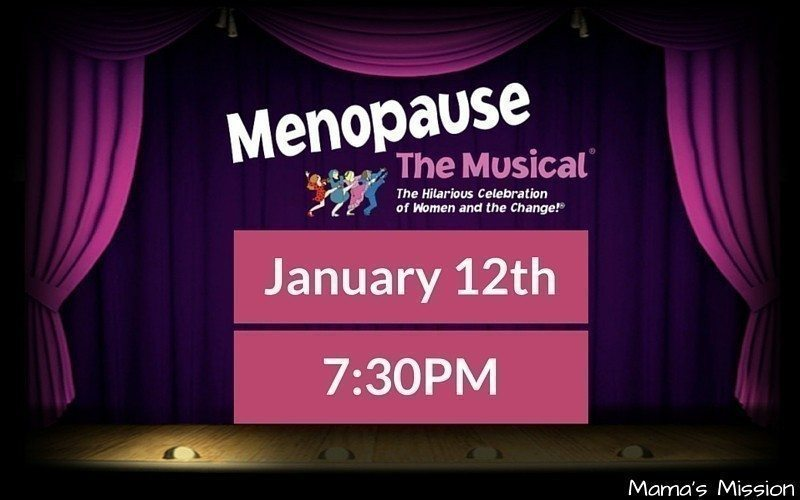 Menopause The Musical Coral Springs Center January 12, 2016