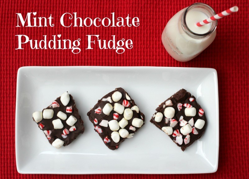 Mint Chocolate Pudding Fudge Kraft Recipe
