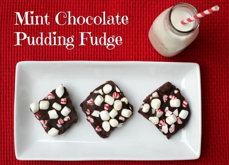 Mint Chocolate Pudding Fudge Kraft Recipe