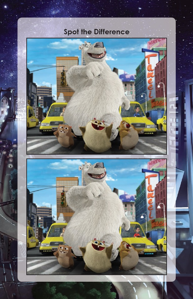 Norm of the North Spot the Difference