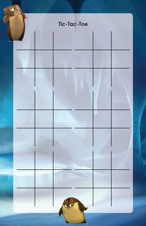 Norm of the North Tic Tac Toe Puzzle