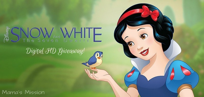 Snow White and the Seven Dwarfs Digital HD Giveaway!