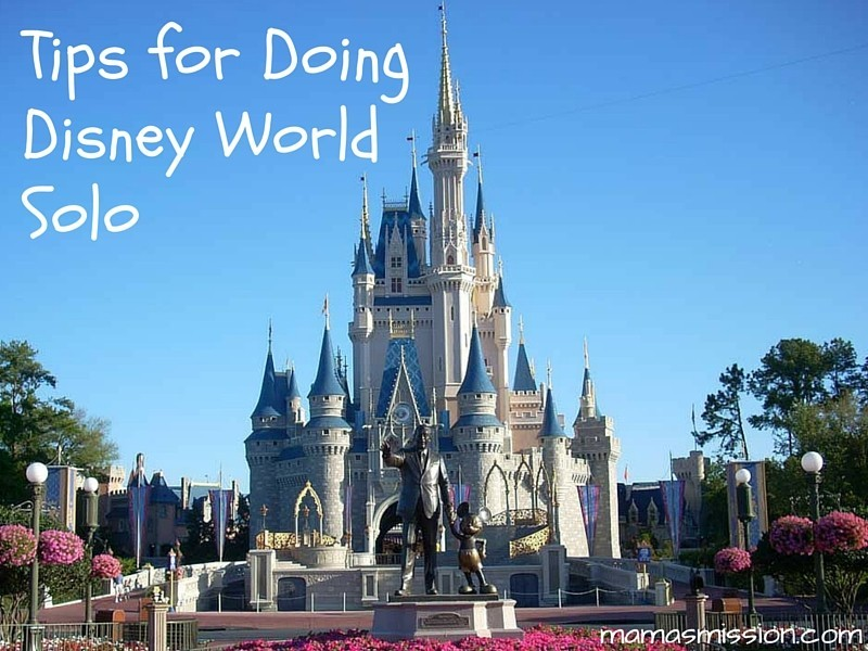 Tips for Doing Disney World Solo Traveling Alone to Disney World