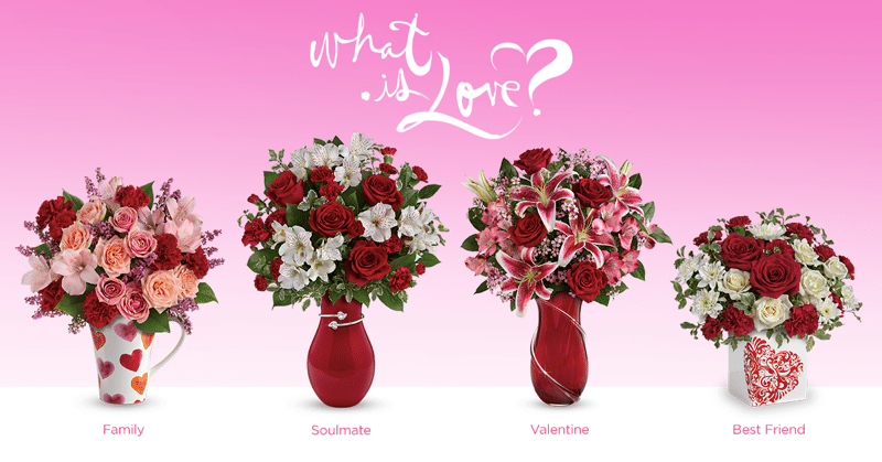 What Is Love? Giveaway from Teleflora's Love Note Concierge