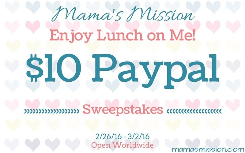 $10 Paypal Cash Sweepstakes