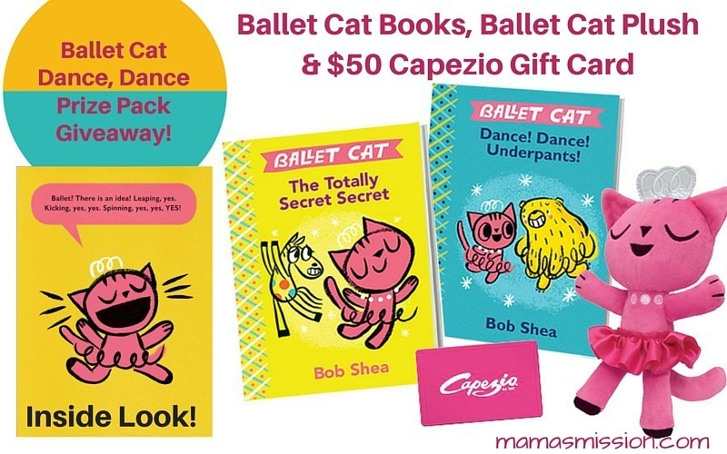 Ballet Cat Dance Dance Giveaway