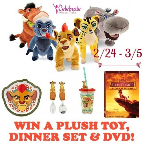 Disney Lion Guard DVD Prize Pack Giveaway