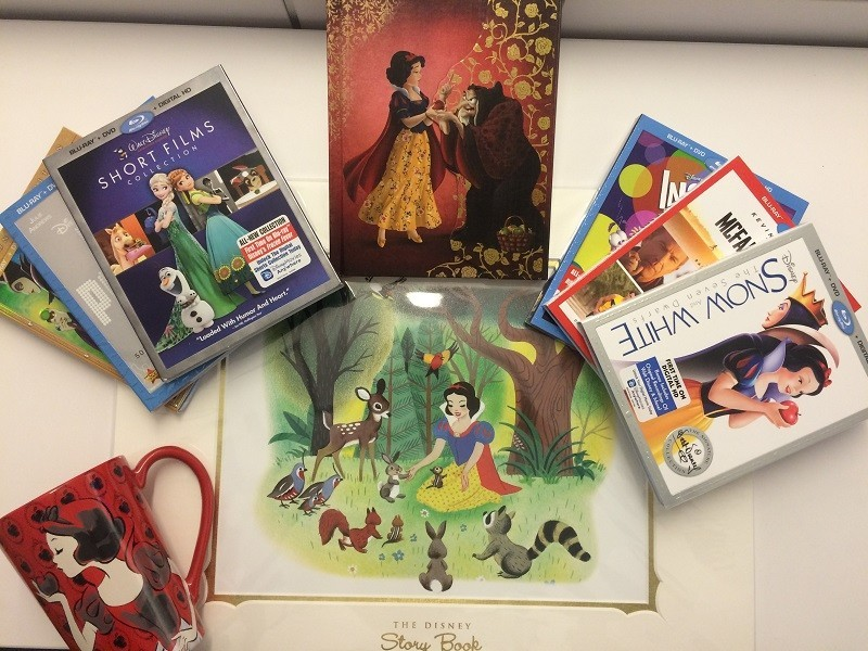 Disney Snow White Mega Prize Pack Giveaway