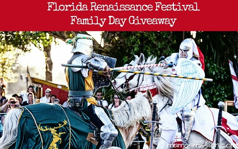 Florida Renaissance Festival Family Day Giveaway