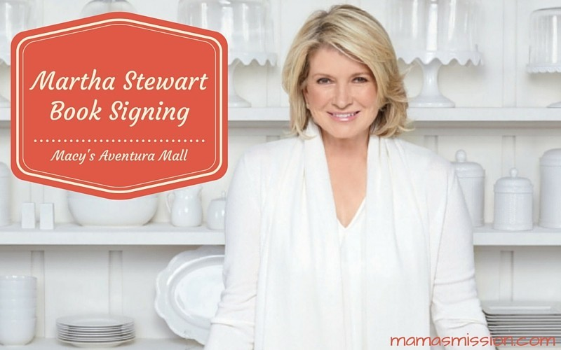 Martha Stewart Book Signing at Macy's Aventura Mall on February 26 2016