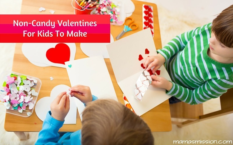 Non-Candy Valentines For Kids To Make