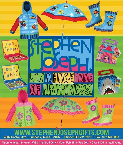 Stephen Joseph Kids Prize Pack Giveaway