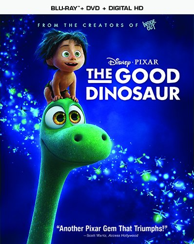 The Good Dinosaur Movie Review Blu-ray and DVD Combo Pack