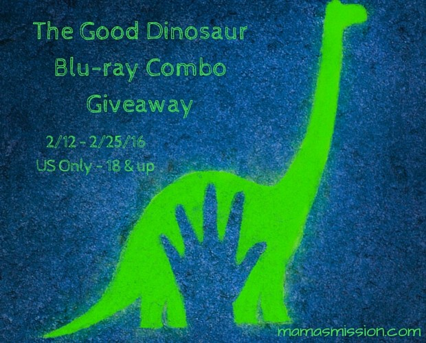 The Good Dinosaur Movie Review and Giveaway