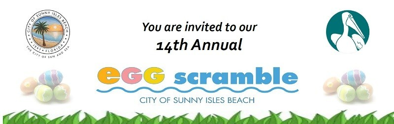 Enjoy a fun-filled day of games, rides, crafts and music as the Annual Egg Scramble egg hunt returns to Sunny Isles Beach. Visit the Bunnies for a photo!