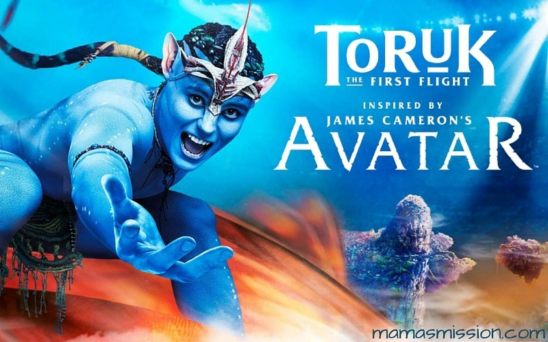 Cirque du Soleil TORUK The First Flight Lands in South Florida! Inspired by James Cameron's Avatar, TORUK is a live immersive multimedia spectacle.