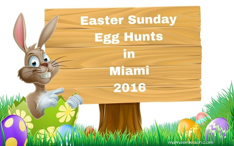 Looking for a fun-filled way to spend Easter Sunday? Check out these egg hunts in Miami happening all weekend long, including Easter Sunday!